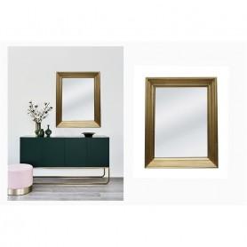 Espelho 21859 - (60x80cm) 78x88x10cm  ref 80683 dourado