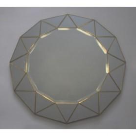 Espelho Decorativo ref 8100 Redondo 79x1.2cm