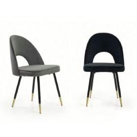 Cadeira Tecido Velvet 822AM-UN70