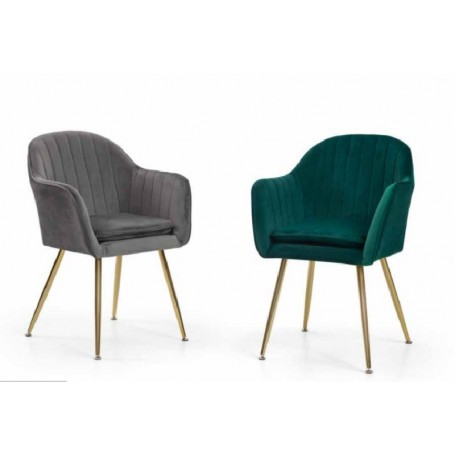 Cadeira Tecido Velvet 874ZL505
