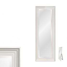 Espelho Pé Com Moldura Branca Ref 8268 169x68CM P1181-W1-4