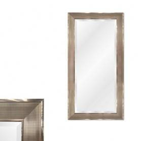 Espelho com moldura Prateada Ref 8271 142x86CM P4215-WK-A-112-