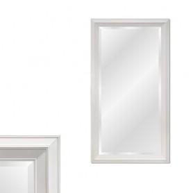 Espelho Com Moldura Branca Ref 8273 139x83CM P1112-W1-2
