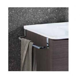 Toalheiro WC  lateral metalico 36.5cm para movel Ref 10.015/00