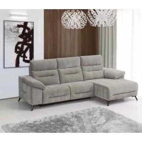 Sofá Deryl 3 Lugares com chaise-long
