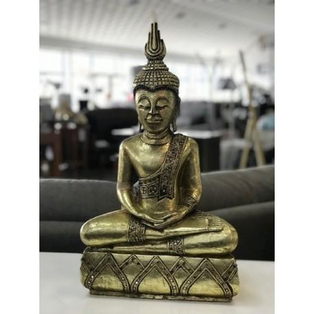 Buda Sentado Ref. BU007 55x45x20cm dourado