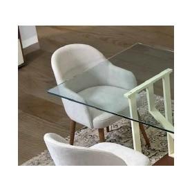 Cadeira Estofada com Apoios de Braços SNTCDR02 Sintra
