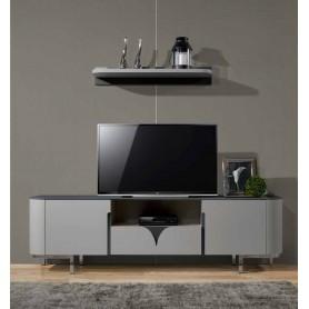 Conjunto Base TV Delta  170 cm com pé metálico