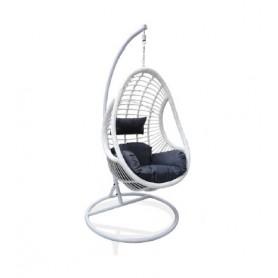 Cadeira de Baloiço Suspensa Branca Grande FOA01-01 8093 -  Jardim