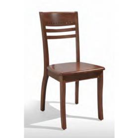 Cadeira Madeira com Tampo Ref. 684KC318 cerejeira