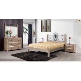 Full Bedroom Lua (colchão 195x150)