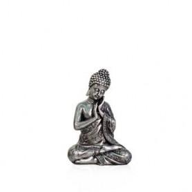 Buda Dec.Prateado19x15x2.8CM XS1340 Ref 7135