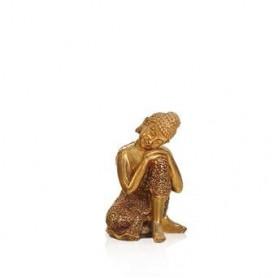 Buda decorativo dourado 12*11*18.8CM ZH96619 ref 7143