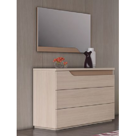 Dresser Curve with 3 Drawers