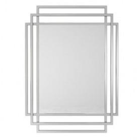 Espelho Metal prateado 110x80x2cm M-9 ref. 9107