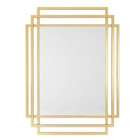 Espelho dourado 110x80x2cm M-9G ref. 9108