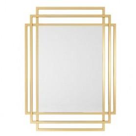 Espelho metal dourado 110x80x2cm M-9G ref. 9108