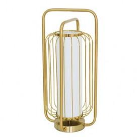 Candeeiro metal dourado 9128  Ø25*53CM ZY-3704TL