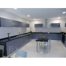 Cozinha Melamina Cinzento