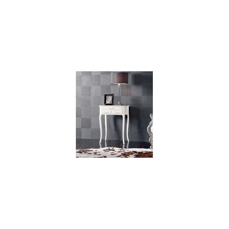 Consola HMDCND17 3 gavetas Lacado alto brilho branco