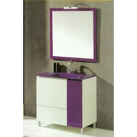 Movel Cádiz 80cm WC casa banho com espelho