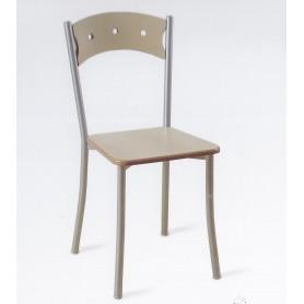 Cadeira Iris Metálica com Faia