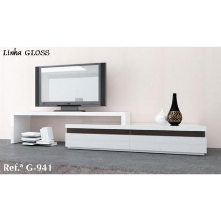 Móvel TV Gloss G 941 lacado semi brilho