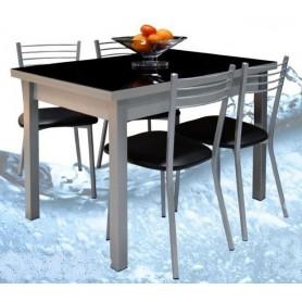 Conjunto Verão Mesa Extensível + 4 Cadeiras