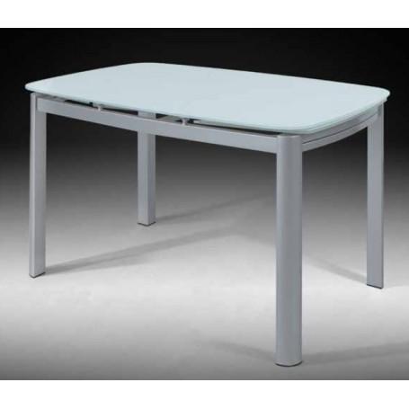 Mesa cozinha cristal c/ abas  7686236