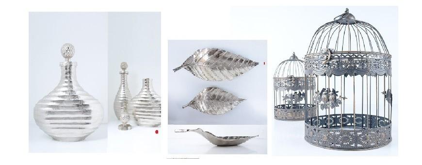 Peças Decorativas metal