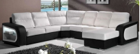 100% Natural Leather Sofa