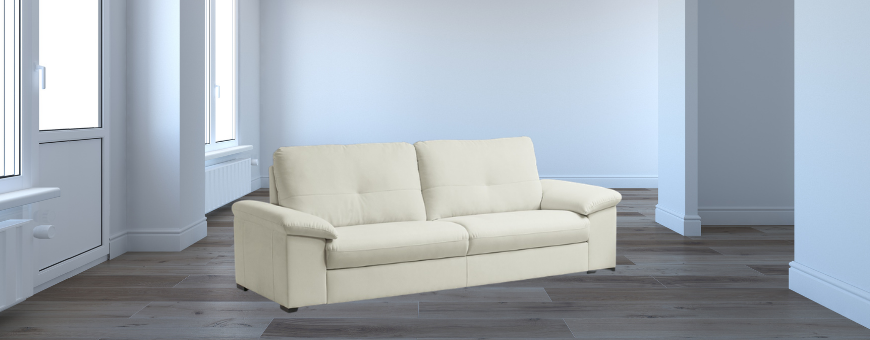 Three seat sofas