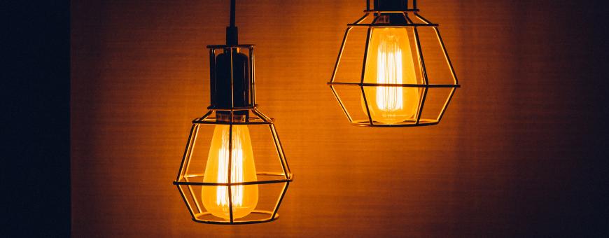 Candeeiros tecto / Suspensões